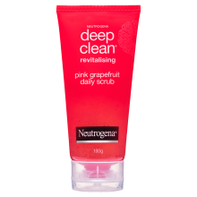 Neutrogena® Deep Clean® Pink Grapefruit Scrub 100g