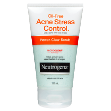 Neutrogena® Acne Stress Control Scrub 125mL