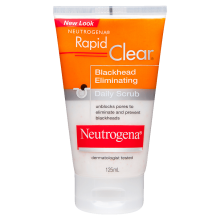 Neutrogena® Rapid Clear® Blackhead Scrub 125mL