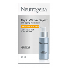 Neutrogena® Rapid Wrinkle Repair Anti-Ageing Moisturiser Broad Spectrum SPF15 29mL