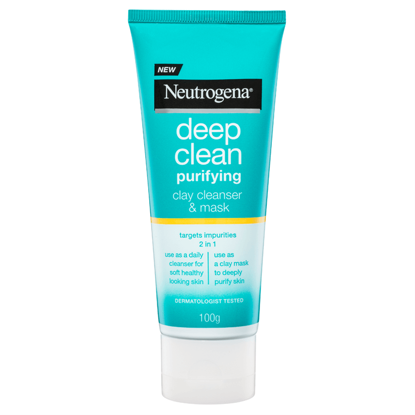 Neutrogena® Deep Clean Purifying Clay Cleanser & Mask