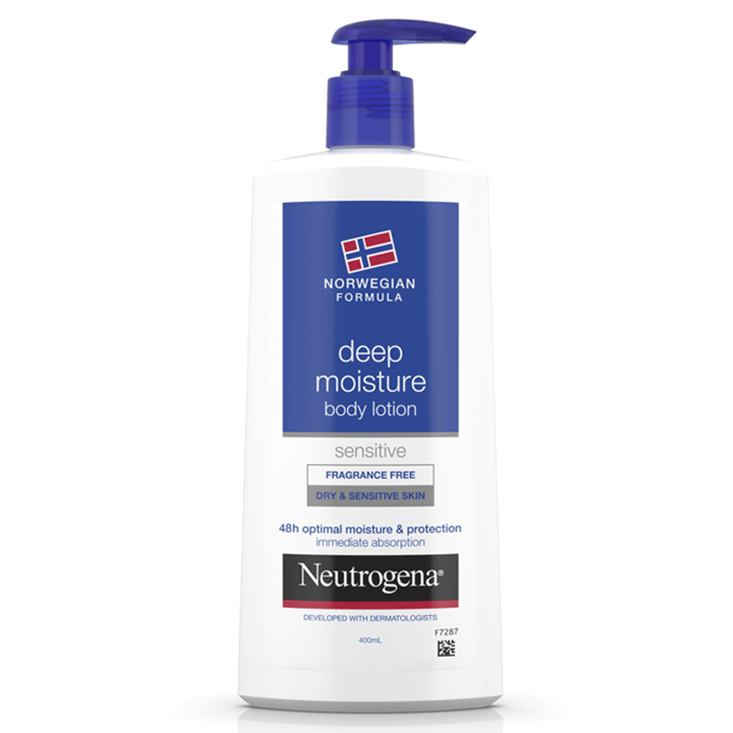 Neutrogena® Norwegian Formula® Deep Moisture Sensitive Lotion 400mL