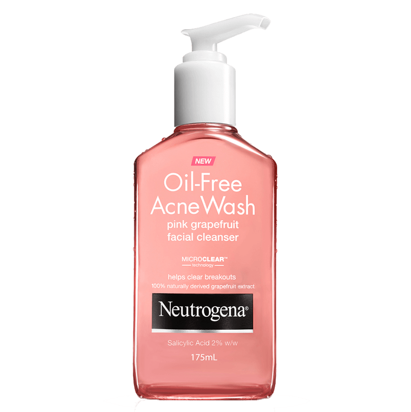 Neutrogena® Oil-Free Pink Grapefruit Cleanser 175mL