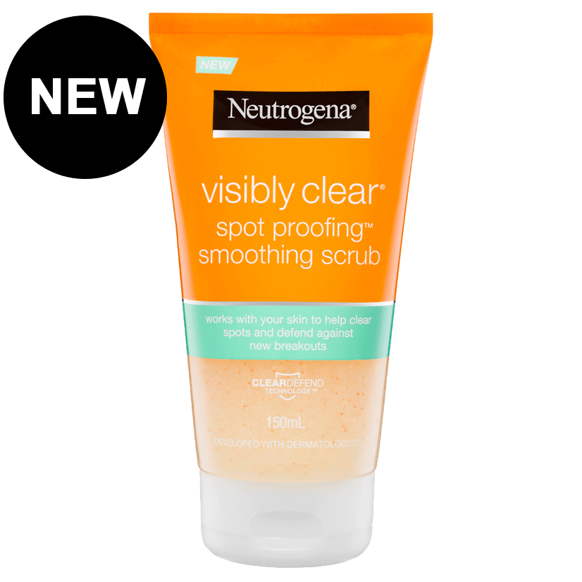 Neutrogena® Visibly Clear Spot Proofing™ Smoothing Scrub